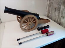 remco johnny reb cannon toy cannon ramrod
