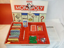 monopoly board game classic 1996 edition by