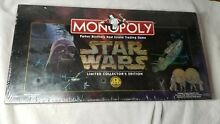 parker bros 1997 star wars monopoly limited