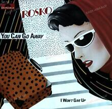 rosko you can go away 7in 1985 vg vg