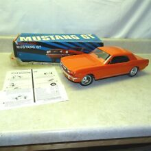 wen mac 1966 ford mustang gt in box papers