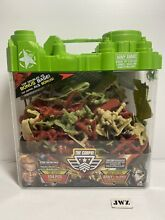 lead soldiers the corps army playset plastic