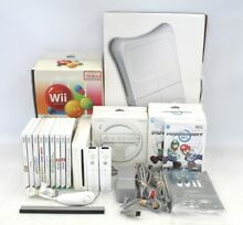 wii fit nintendo wii game console bundle