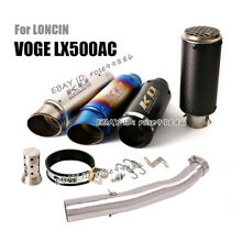 motorcycle for loncin voge lx500ac exhaust