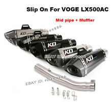 motorcycle slip on for voge lx500ac exhaust
