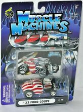 muscle machines 03 42 1933 ford coupe stars stripes