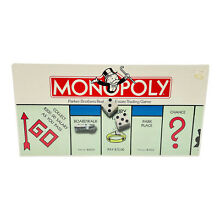 go for it parker 1985 monopoly board game by parker