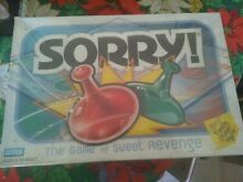 sorry game parker brothers board games sorry