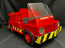 palitoy action man emergency fire tender