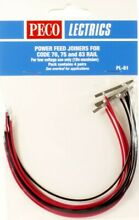 peco ho power feed joiners 4pr 8 joiners