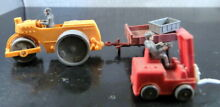 wiking german plastic toys tractor w