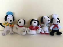 mcdonalds peanuts snoopy 2001 collectible
