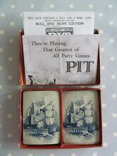 pit game pit card game by parker brothers