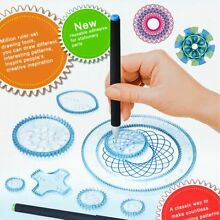 spirograph 27pcs design set draw drawing art