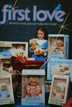 pedigree first love doll catalogues x4