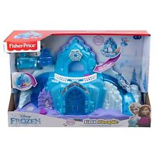 little people fisher price frozen palazzo di elsa