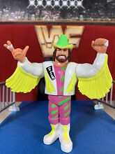 titanic wwf hasbro s5 macho man mint action