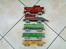 american flyer 1936 o gauge complete freight car