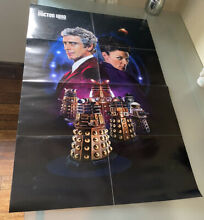 dr who doctor who magazine series 9 poster
