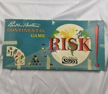 risk 1959 board game parker brothers w