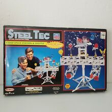 steel tec 1993 remco toys x2000 space station