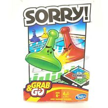 sorry game sorry grab go game hasbro ages 6 up