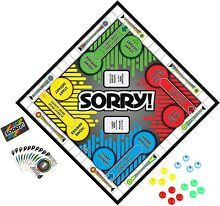 sorry game hasbro sorry family board game