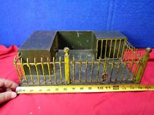 german early toy zoo cage circus cage tin