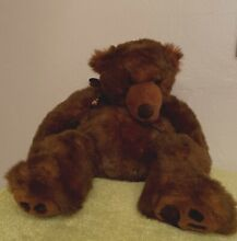 russ berrie timber brown grizzly bear 22 in