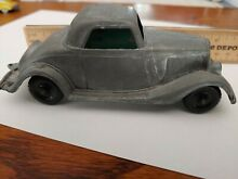 hubley 1934 green ford roadster coupe 404