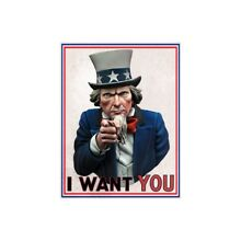 uncle sam scale75 1 10 i want you resin bust