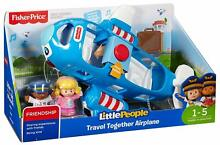 little people fisher price vehicle airplane large