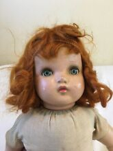 horsman 22 doll red hair cries eyes open