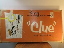board game parker brothers clue 1950 in