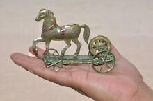 penny toy rare french a h horse on platform