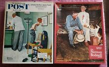 norman rockwell puzzle lot 2 norman rockwell jigsaw