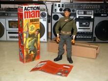 palitoy action man boxed original 1970s