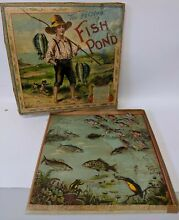 mcloughlin 1904 home fish pond game by