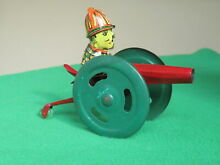 penny toy clockwork tin plate canon boxed