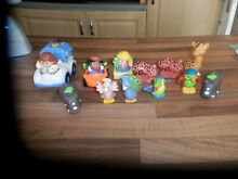 little people fisher price vehicles figures
