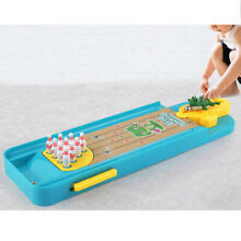 bowling game mini funny tabletop frog relief