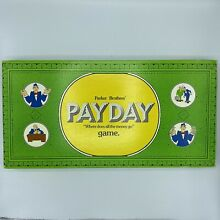 pay day game 1974 pay day board game parker