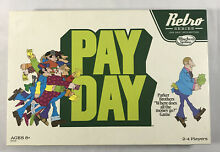 pay day game hasbro retro series payday board
