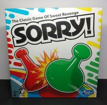 sorry game sorry factory sealed hasbro family