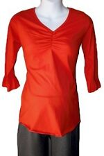 NEW TRENDY Orange Maternity Shirt/ Top  -pick size!