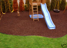 Rubber Playground Mulch | Recycled Bark | Playsafer