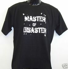 Fun T-Shirt * Master of Disaster schwarz S - XXL