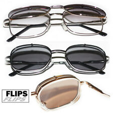 Reading Glasses Tinted Sunglass Flip Ups FLIPS.EYEWEAR