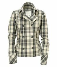AEROPOSTALE plaid light Pea Coat Jacket XS,S,M,L,XL nwt