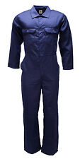 WWK Boilersuit Overall Coverall Mens/Kids Navy or Royal mechanic college work